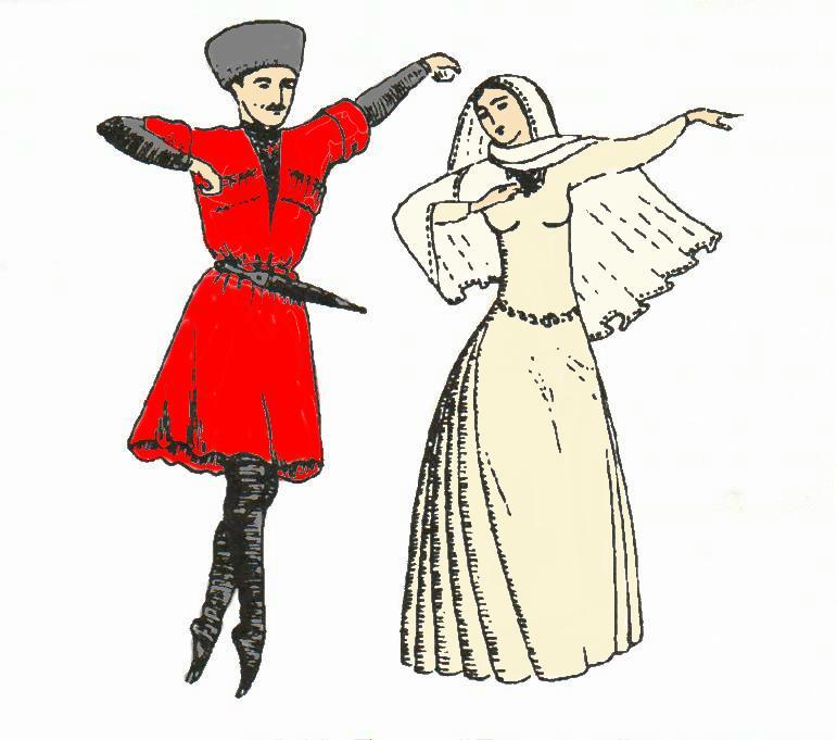 Лезгинка - танец, прошедший сквозь века